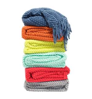 Eden Bobble Throw (Any Colour)