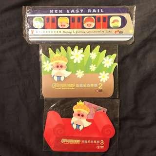 【麥嘜麥兜】麥嘜·好朋友紀念車票 & 麥兜菠蘿油王子地鐵紀念車票 McDull & McMug