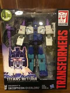Titans return-overlord BNIB
