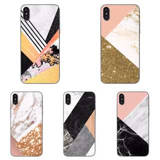 Geometric Marble Soft Case