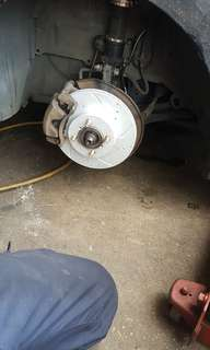 Toyota vios ncp93 brake rotor