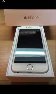 IPHONE 6 金 16G