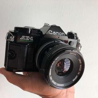 Canon AE-1 Program FD 35mm 3.5 SC lens