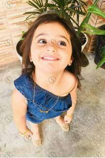 Kid's denim dress