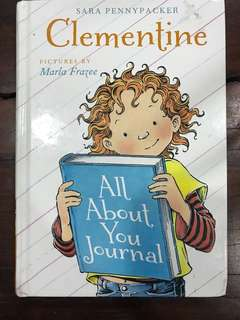 Clementine all about me journal
