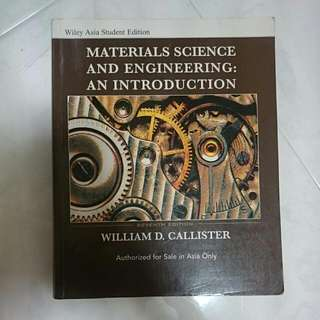 Material Science And Engineering (7th Edition)