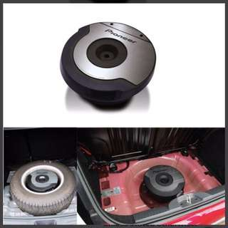 Pioneer spare tyre active subwoofer