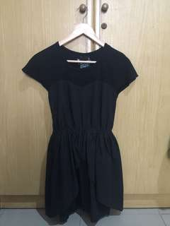 Mini dress black
