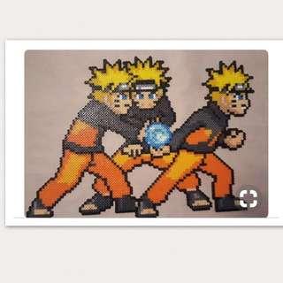 Naruto Hama Bead Designs