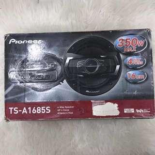 Pioneer TS-A1685S 16cm 4way speaker, 350W