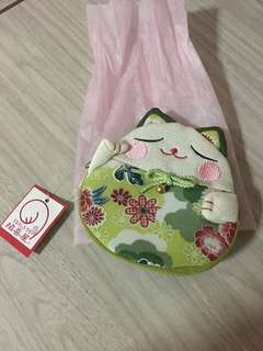 Coin Purse Japan Cat Pouch