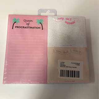 🎀BN Skinnydip Sticky Note Set Pack