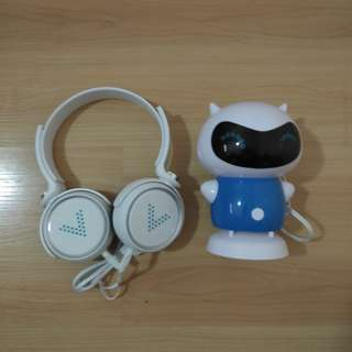 Vivo Headset and Speaker Set