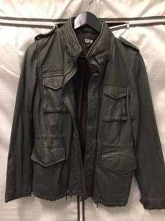 🚚 皮MA1軍外套