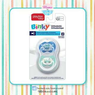 ‼️NEW‼️PLAYTEX Baby Binky Orthodontic Pacifier 0-6m (B/LB)