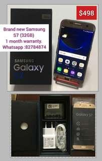 Brand new Samsung S7( 32GB)