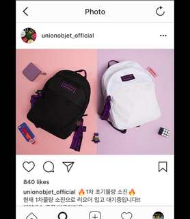 Unionobject Ultra Violet Backpack