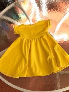 Ccgc yellow dress