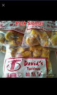 Pork Siomai 60pcs (Original David's Tea House Disum Product)