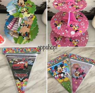 Children birthday party supplies, goody bag, goodies bag gift, goodie bag packages or party door gift
