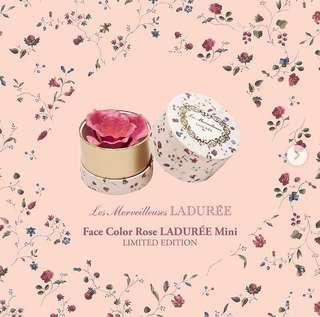 Brand New Authentic Les Merveilleuses LADURÉE Singapore Only Limited Edition Rose Blusher!