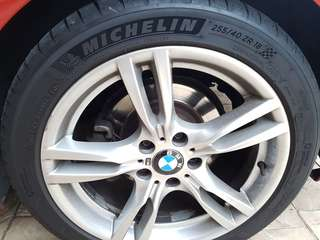 "Original BMW 18"" 400M Style Rims"