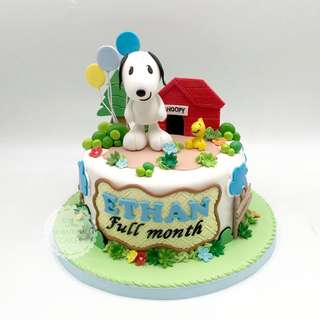 Brown and Cony pool bath theme birthday cake Singapore #singaporecake