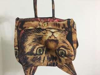 muchacha cat cats women's bag 日版 貓 外形 手袋 單邊