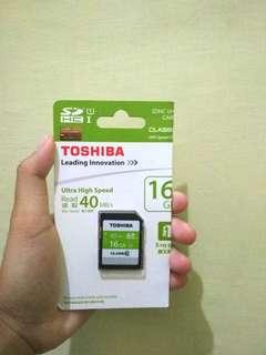 Toshiba Memory Card 16gb