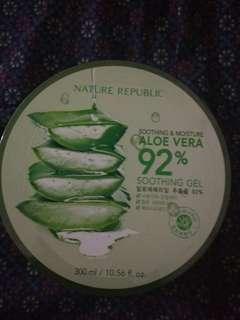 Nature republic natrep aloe vera gel original free ongkir