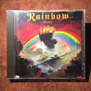 RAINBOW Rising 1976 Polypro Made in France Audio CD