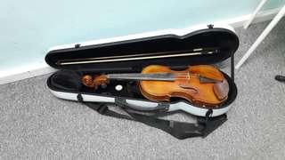 Handmade One Piece Wood 4/4 size Violin