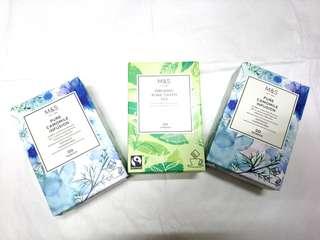 Marks and Spencer茶@20包裝 綠茶/ 菊花茶 (三盒全買減$5)一