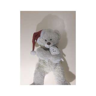 Christmas White Teaddy Bear
