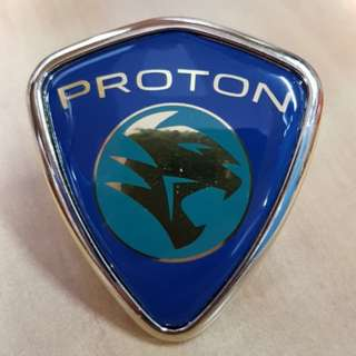 WIRA SE ARENA Front Grille Emblem Logo Badge (MARK TOP) Original Proton Parts