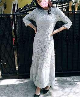Baju muslim/ dress panjang