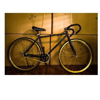 Gold Drop Bar Fixie [Brand New, Ready Stocks]