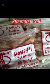 Lumpiang Shanghai 60pcs (David's Tea House Dimsum Product)