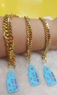 18k saudi gold bracelet (Unisex)