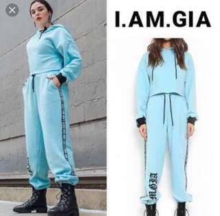 I AM GIA Vanity Smurf Trackpants