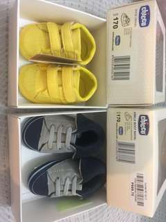 Chicco Shoes 3-6M Selling as Pack