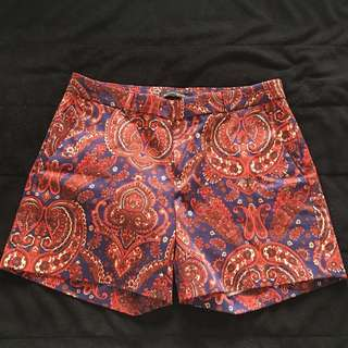 Red and Blue Shorts