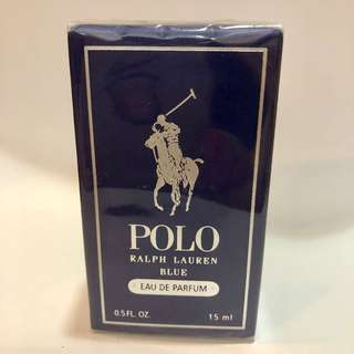 Polo Ralph Lauren Blue Eau de Parfum 15 ml. Sealed