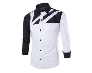 Baju pria kmj ciko putih