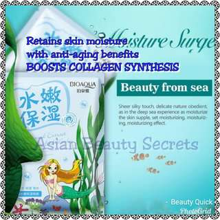 Seaweed and Hyaluronic Acid Face Mask