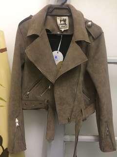 Beginning boutique suede jacket
