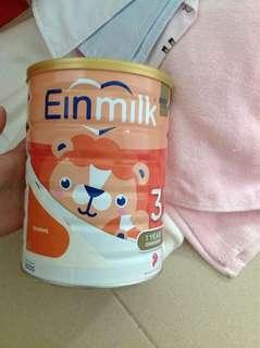 Price reduced!! Einmilk stage 3 fm 800g