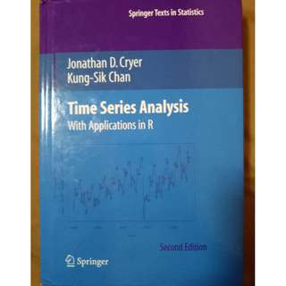 Times Series Analysis With Application in R