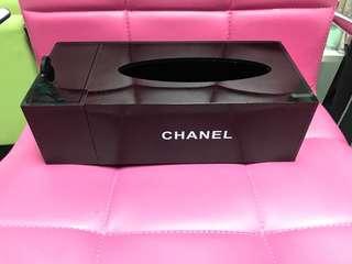 Chanel box 香奈牌紙巾盒 搖控座 二手自讓