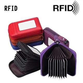 RFID card holder blocking card holder